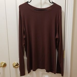Venezia brown shirt sz 18/20